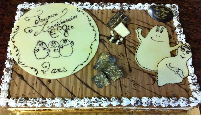 Vente de gâteaux d'anniversaire à Bailleul