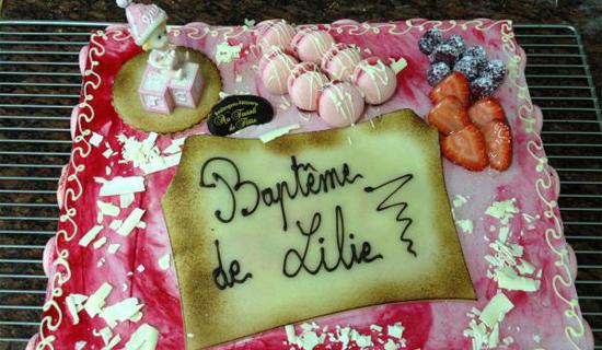 Vente de gâteaux à Bailleul